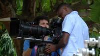 Film cameraman