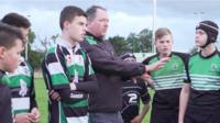 Volunteer coaches at Woodrush Rugby Football Club
