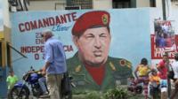 Poster of Hugo Chavez
