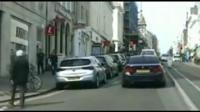 Police chase in Brighton