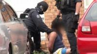 A 20-year-old man from Raby in Sydney's south-west was arrested on Thursday