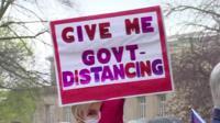 Michigan protestors decry Covid-19 state of emergency