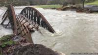 Old Keswick Railway Path Bridge