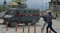 Clash in Srinagar