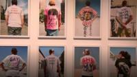T-shirt exhibition