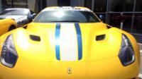 Ferrari car in Colchester