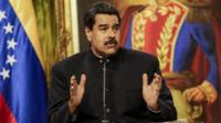 President Maduro spoke at a news conference on Tuesday