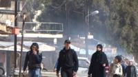 Syria, Homs, siege