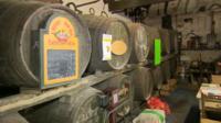 Hecks Farmhouse Cider, in Street, Somerset