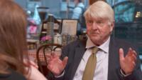 Ex-Conservative MEP Stanley Johnson, Boris Johnson's father, and journalist Ella Whelan have differing opinions on Brexit.