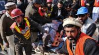 Man injured in university attacks is helped
