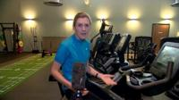 The BBC's Katy Austin at a gym that has reopened in Twickenham