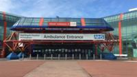 Up to 4,000 patients could be treated at the NEC