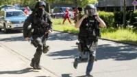 Police in Viernheim