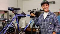 Bike fixer Tom Reilly