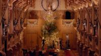 The Queen's Christmas Tree at Windsor Castle