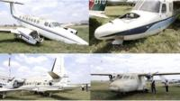 Aeroplanes auctioned at Kenyan airport