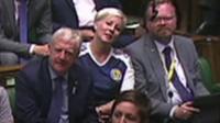 MP wearing football shirt in parliament