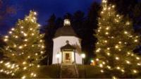 File image from 2003 of the Silent Night Chapel in Oberndorf, where the song was first performed in 1818