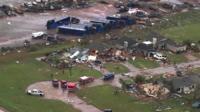 Damage from Tornado in Oklahoma