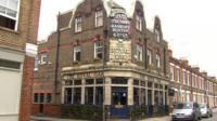 Royal Oak pub in East London