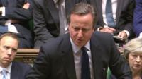 David Cameron at PMQs