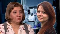 Виктория и Юлия Скрипаль