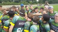 Australia Dropbears team talk