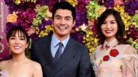 The cast of Crazy Rich Asians