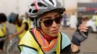 Sudan cyclist