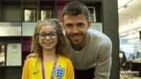 Darcy and Michael Carrick