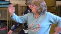 Dance class in Gorseinon