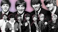 The Beatles and BTS