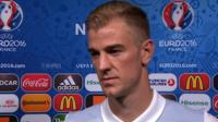 England keeper Joe Hart