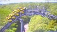 CCTV footage of Smiler crash