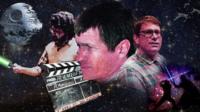 mocked up film poster