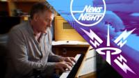 As Newsnight unveils a new look and sound, the man behind the theme tune shares his composing secrets.