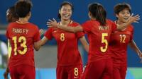 China's Tan scores 40-yard goal