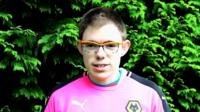 Man, 22, with Asperger's Syndrome visits all 92 football league clubs to raise awareness.