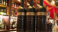 Lehman Brothers whisky bottles