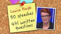 Graphic with Louise Haigh MP