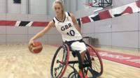 GB wheelchair basketball forward Amy Conroy