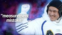 Graphic showing Japanese astronaut Norishige Kanai