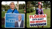 Sights and sounds from Florida governor's race reveal the passion of the people - and a political divide.