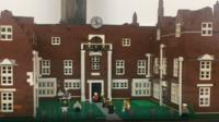 Christchurch Mansion, Ipswich in Lego