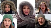 We asked people from cold Russia, Serbia, Canada, Austria and... Newcastle, England, for their tips on how to stay warm.