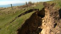 Crack on Jurassic Coast