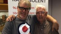Alex Dyke and Bill Palmer