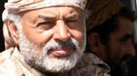 Yemeni army deputy chief of staff Major General Ahmad Saif al-Yafei in the western coastal town of Mokha, 22 February 2017