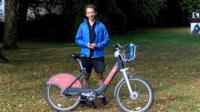 Baz and his bike